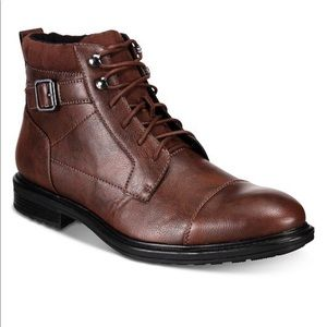 NEW ALFANI Men's Chris Utility boots size 12
